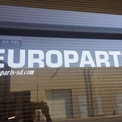 Photo Of Europarts San Go Ca United States Window Sign