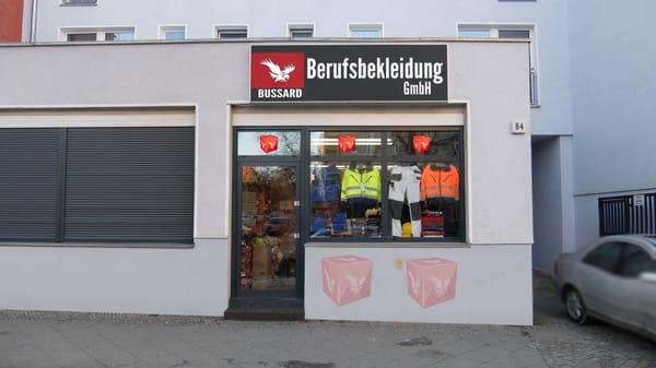 bussard berufsbekleidung uniformes britzer damm 84 britz berlim berlin alemanha n mero. Black Bedroom Furniture Sets. Home Design Ideas
