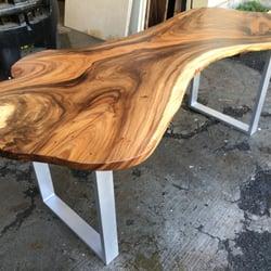 Awesome Photo Of Honolulu Furniture Company   Honolulu, HI, United States. Slab  With Aluminium