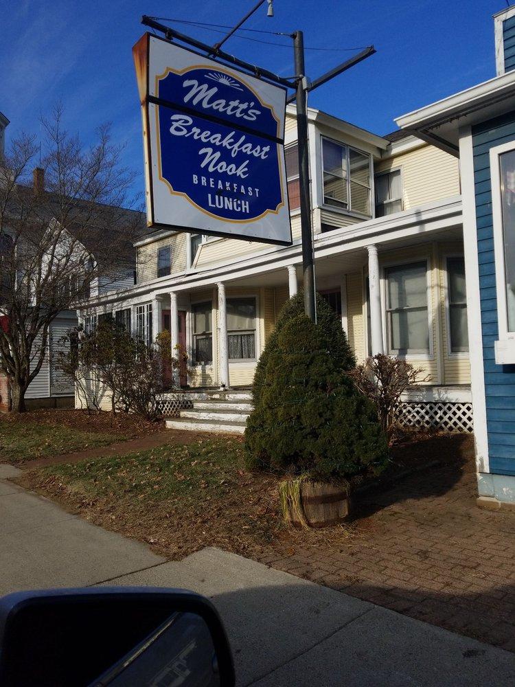 Matt's Breakfast Nook: 8 E Main St, West Brookfield, MA