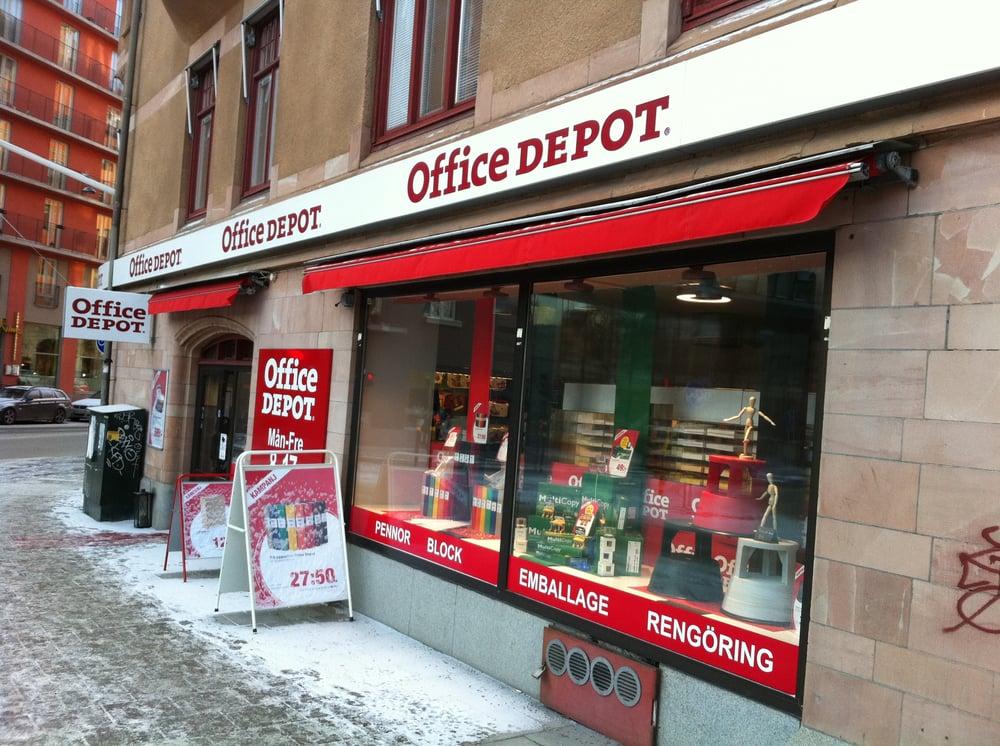 Office Depot Kontorudstyr Torsgatan 2 City Stockholm