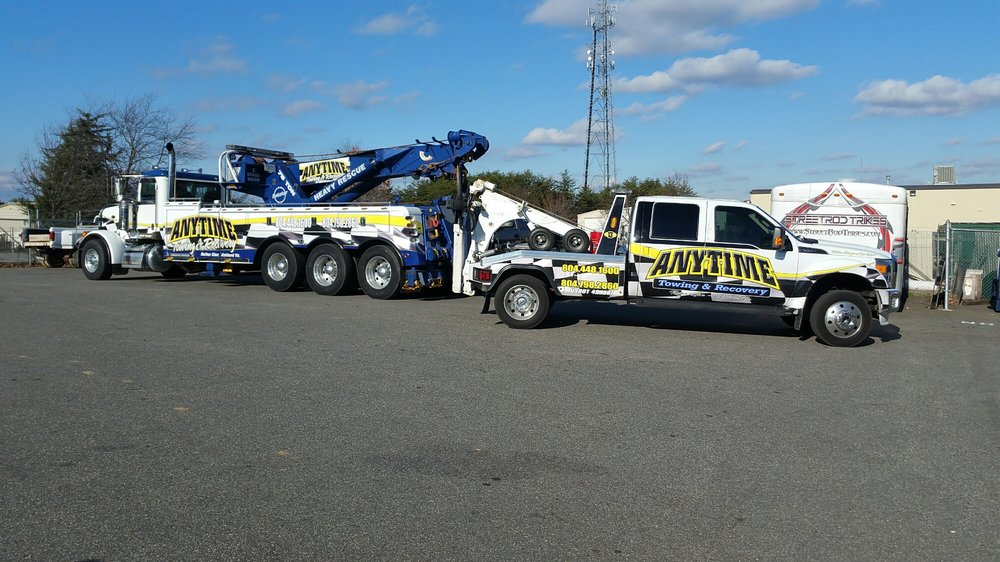 Anytime Towing: Ruther Glen, VA