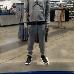 reputable site c3b76 5ff6d Photo of Champs Sports - Riverside, CA, United States. Poor guy