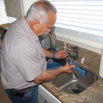 Kitchen sink faucet repair - Yelp