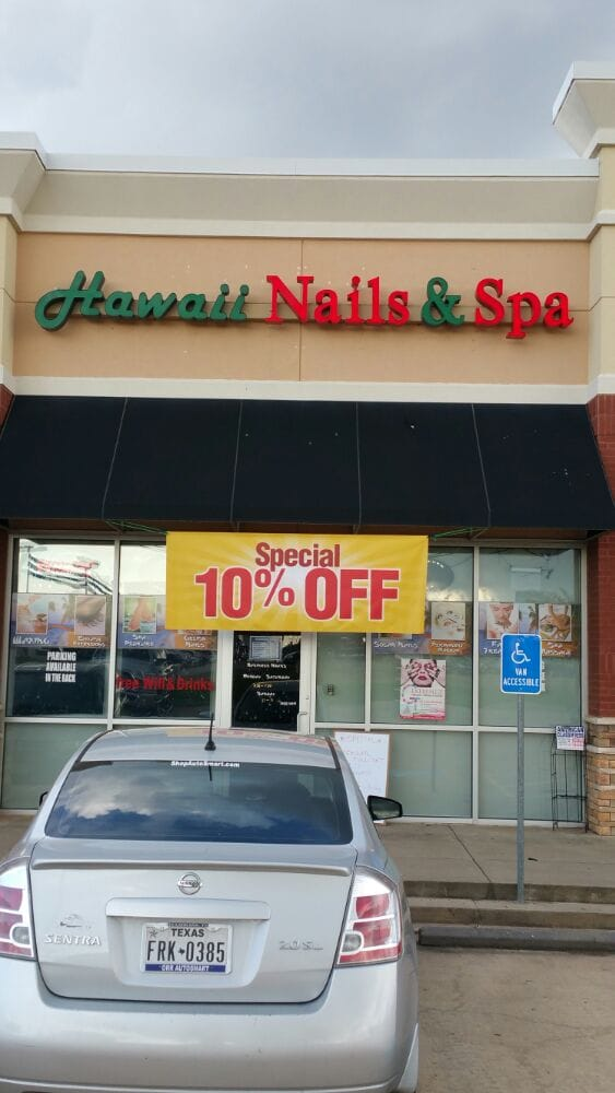 Hawaii Nails and Spa: 4280 Saint Michael Dr, Texarkana, TX