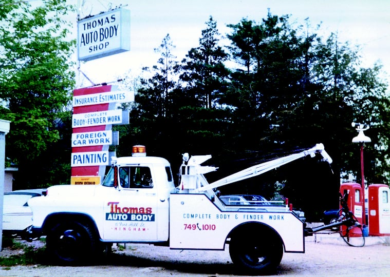 Towing business in Hull, MA