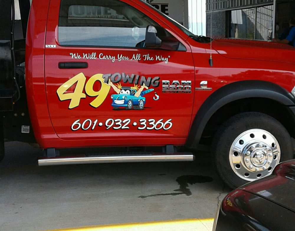 49 Towing: 195 S Rankin Industrial Dr, Florence, MS