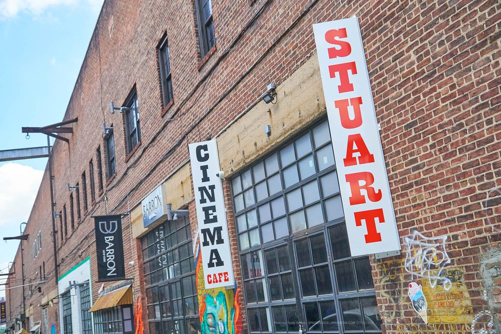 Stuart Cinema & Cafe: 79 West St, Brooklyn, NY