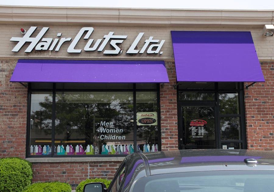 Haircut places near my location