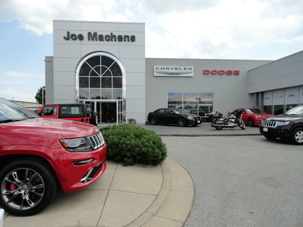 joe machens chrysler dodge jeep ram 11 reviews auto loan providers 1310 vandiver dr. Black Bedroom Furniture Sets. Home Design Ideas
