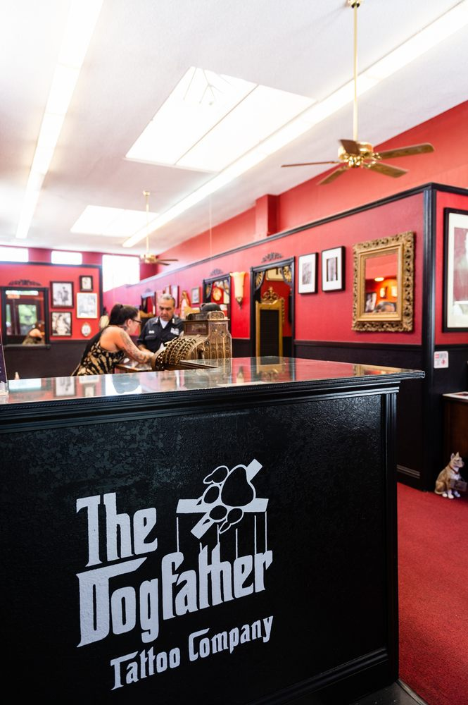 The Dogfather Tattoo: 120 J St, Fremont, CA