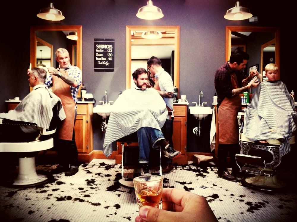 Barber Shop Oakland : Photo of Temescal Alley Barber Shop - Oakland, CA, United States