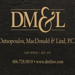 Datsopoulos MacDonald & Lind PC | Lawyer from Missoula ...