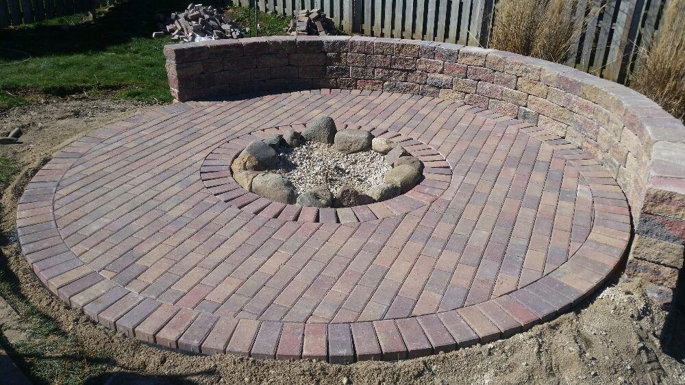 Superbe Photo Of GardenScapes   Monticello, IN, United States. 14 Ft Diameter Circle  Patio