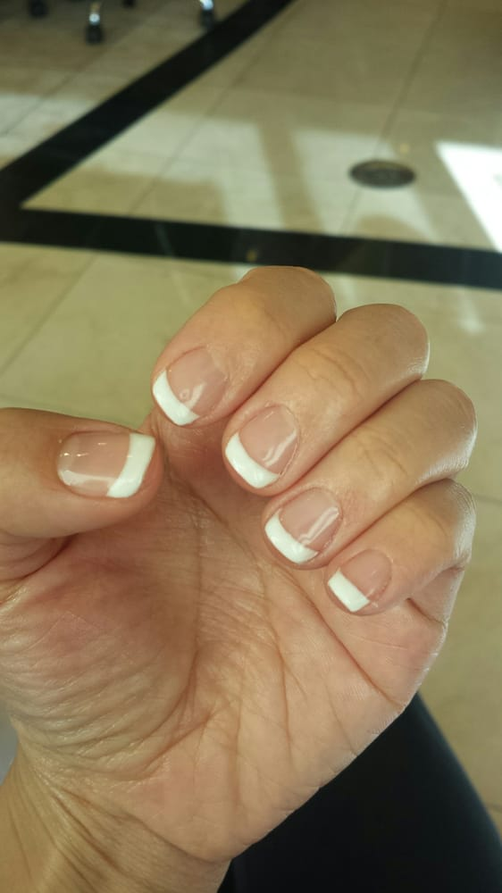 Gel Nail - French style - Yelp