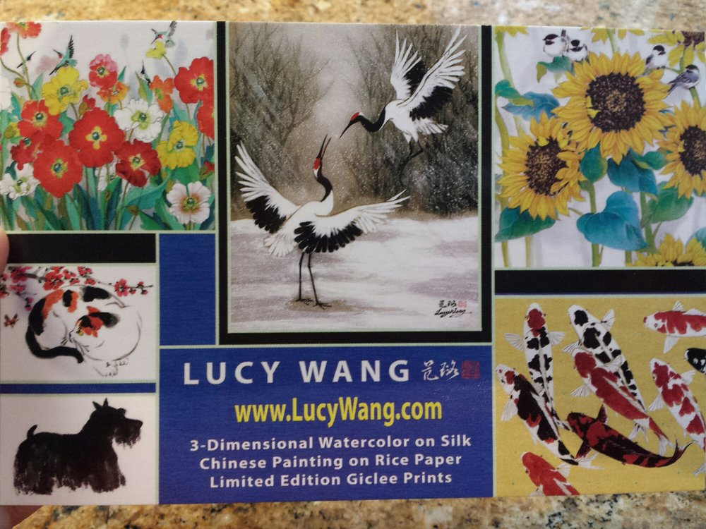 Wang Lucy-Chinese Brush Painting Gallery: 1770 Village Pl, San Diego, CA