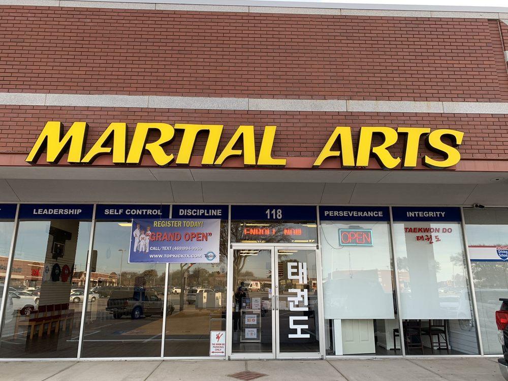 Top kick Martial Arts: 3044 Old Denton Rd, Carrollton, TX