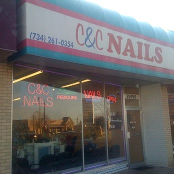 C c nails nail salons 29199 plymouth rd livonia mi for 6 salon royal oak mi