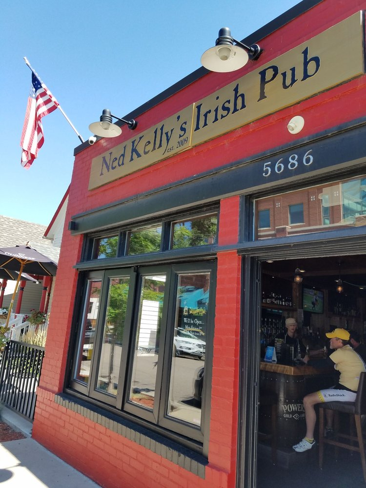 Ned Kelly's Irish Pub: 5686 S Sycamore St, Downtown Littleton, CO