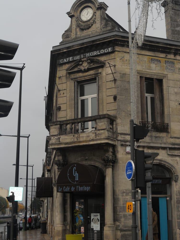 Caf de l horloge restaurant fran ais 2 cours gambetta for Restaurant talence