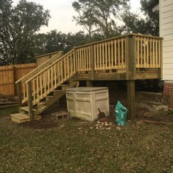 Photo Of Custom Outdoor Designs   Ellabell, GA, United States. 15x20 Deck  With
