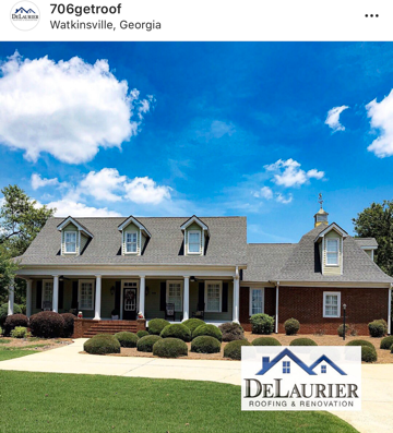 DeLaurier Roofing: 8771 Macon Hwy, Athens, GA