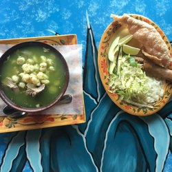 Photo Of Taqueria Restaurante El Mezcal Waukegan Il United States Pozole Verde