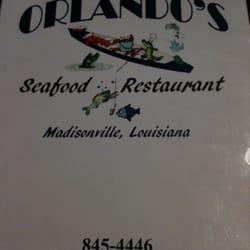 Orlando S Seafood Restaurant Madisonville La