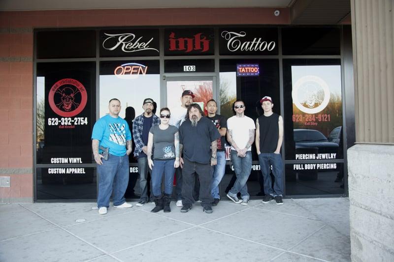 4954deef19953 Rebel Ink Tattoo - CLOSED - Tattoo - 21820 S Ellsworth Rd, Queen ...