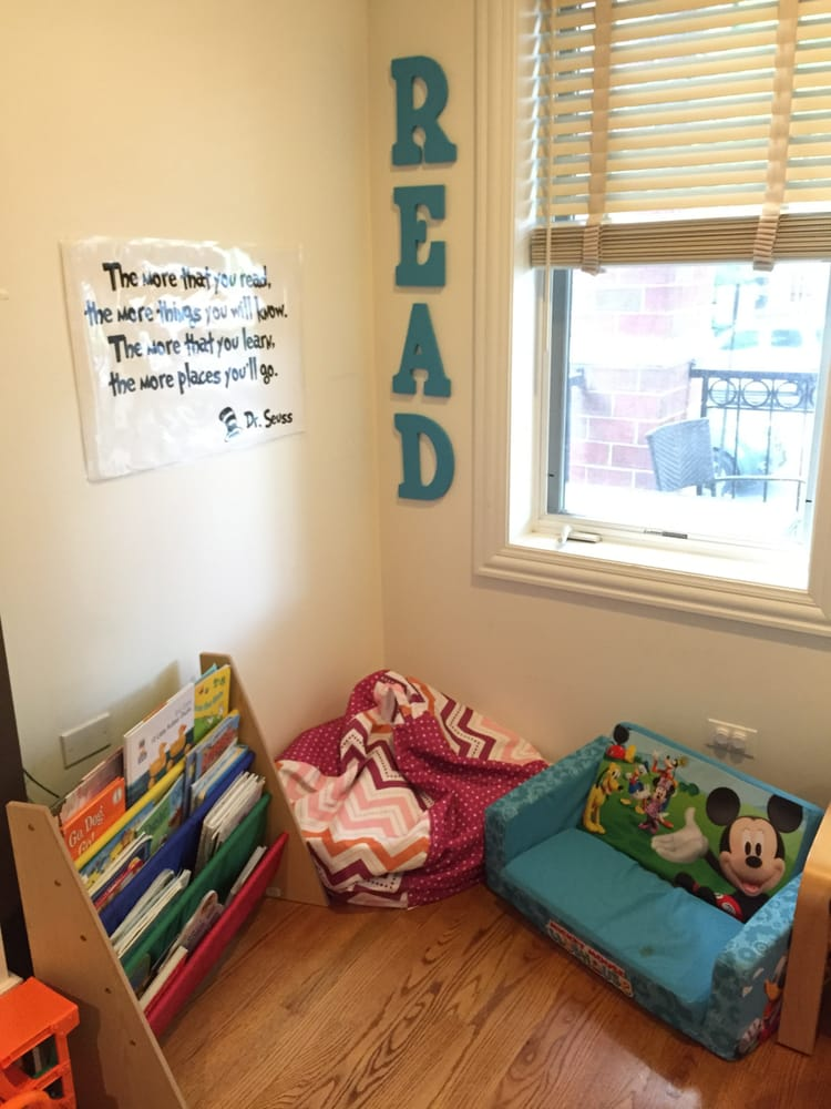 Our reading corner yelp for Rooms for kids chicago