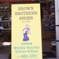 Brown Brothers Shoes Alameda