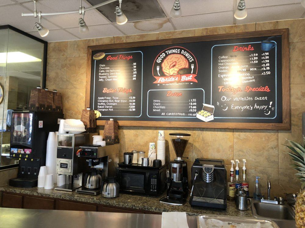 Good Things Donuts: 625 Eglin Pkwy NE, Fort Walton Beach, FL