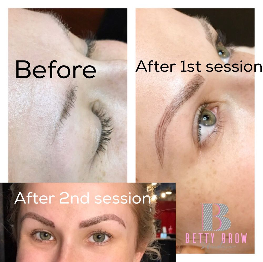 Betty Brow and Lash Studio: 4484 Jimmy Lee Smith Pkwy, Hiram, GA