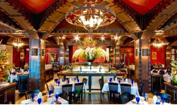 Texas de Brazil is no ordinary steakhouse. It's a dining experience like no other. Here, traditions of Brazilian cooking blend with Texas hospitality to create a lively atmosphere in an upscale setting/5(1K).
