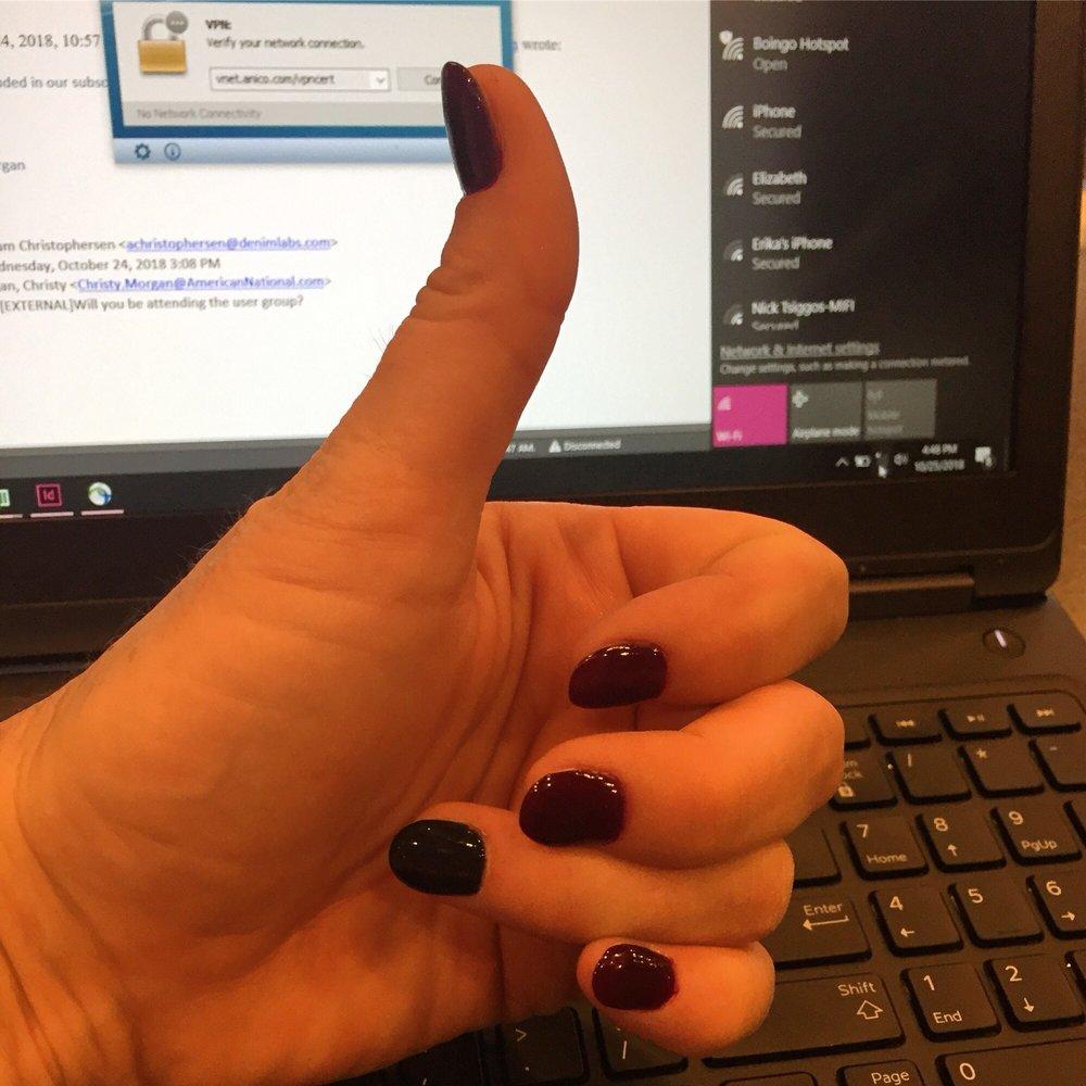 Morgan nails nick