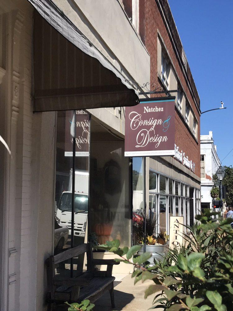 Consign & Design Natchez: 120 N Commerce St, Natchez, MS