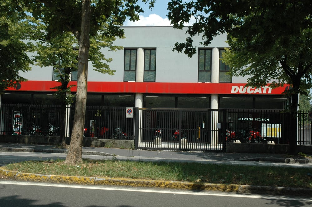 Ducati milano motorcycle dealers via general cantore for Via san vittore 49 milano
