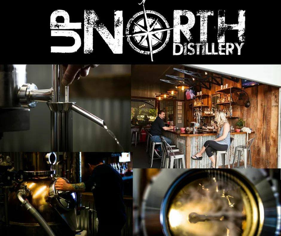 Up North Distillery: 846 N Boulder Ct, Post Falls, ID