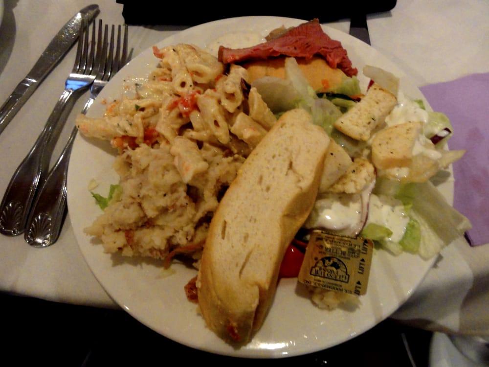 Wedding Buffet Salad W Ranch Bread Mashed Potatoes W Skins