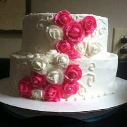 Photo Of Cake Confections Newark Oh United States Simple Rose Wedding