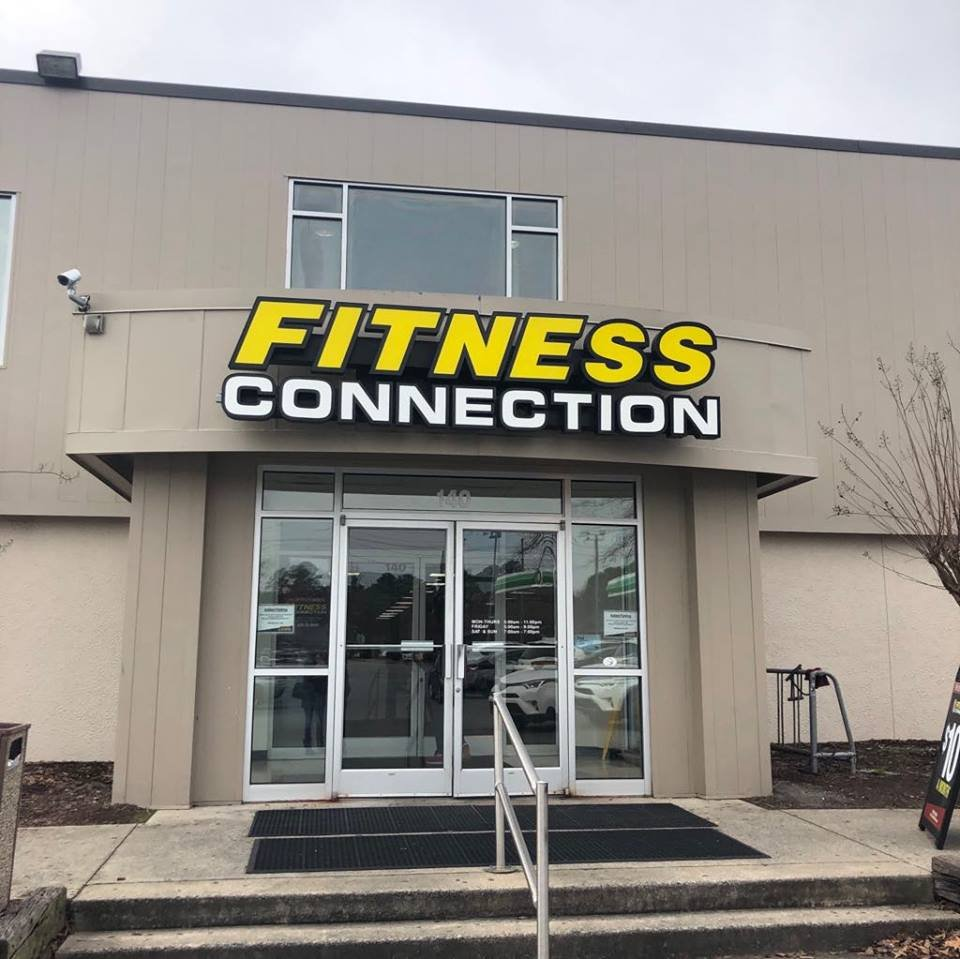 Fitness Connection - Greenville: 140 Oakmont Dr, Greenville, NC