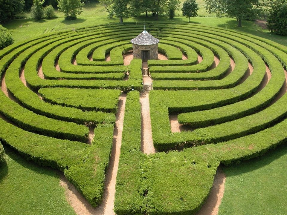 New Harmony Labyrinth: 1239 Main St, New Harmony, IN