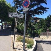 Rowing Club de Marseille - Marseille, France. On ne peut pas le rater !