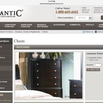 Photo Of Atlantic Bedding And Furniture   Chantilly, VA, United States.  Website Price