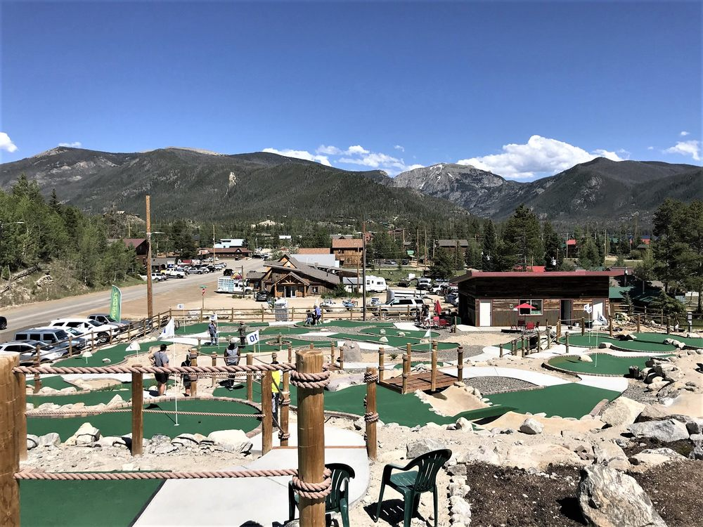Meandering Moose Mini Golf: 528 Grand Ave, Grand Lake, CO