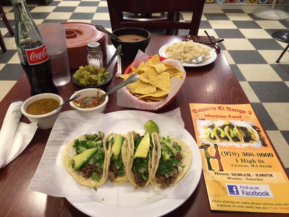 Taqueria El Amigo Iii 20 Reviews Mexican 1 High St Clinton Ma Restaurant Phone Number Last Updated December 17 2018 Yelp