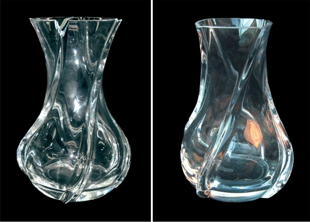 Crystal Repair Restoration Baccarat Vase Before After Yelp