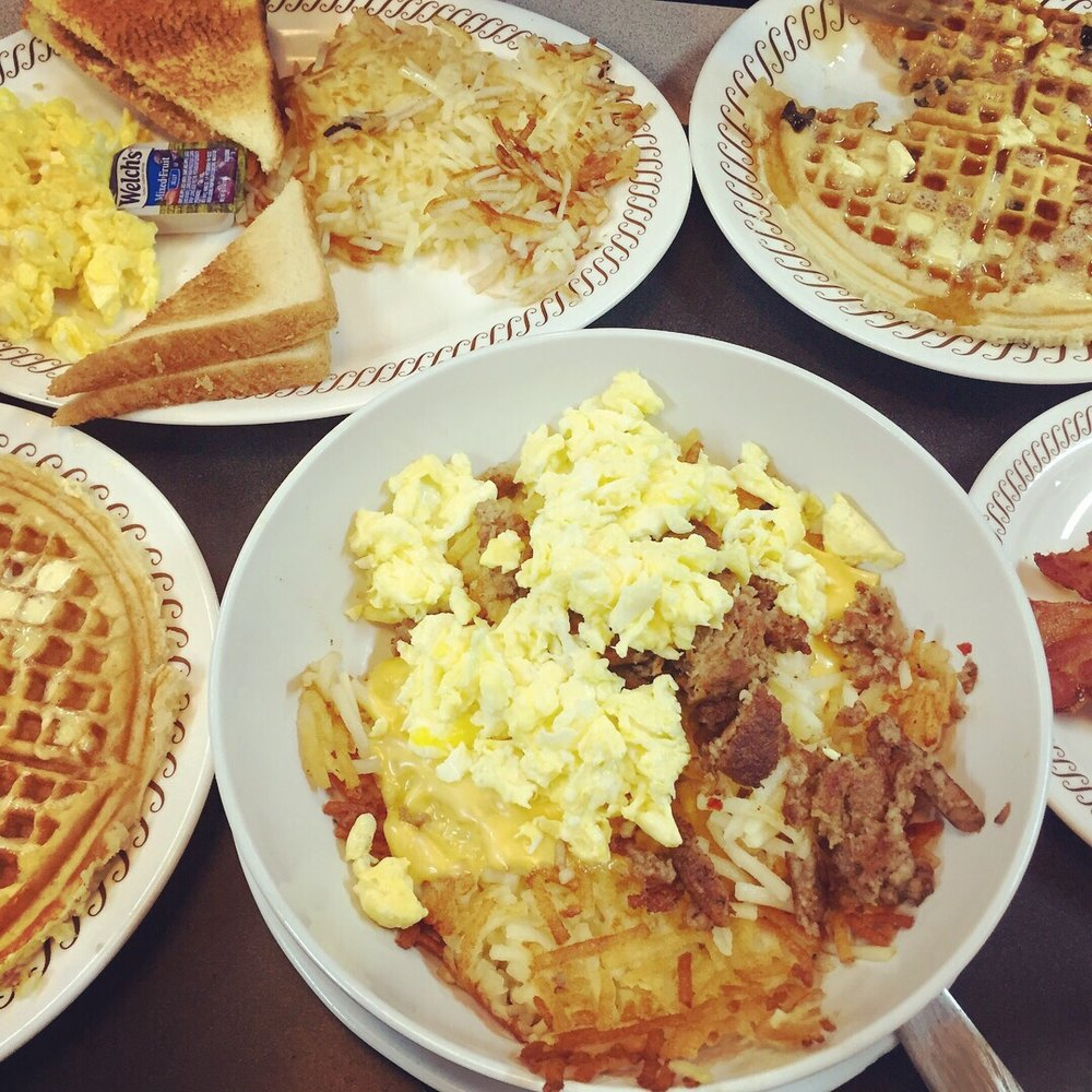 Waffle House: 1116 League Line Rd, Conroe, TX