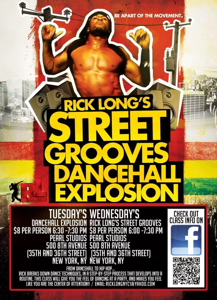 Dancehall Explosion and Street Groove