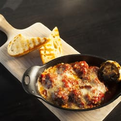 Photo Of Hodo Restaurant Fargo Nd United States Bison Mozzarella Meat